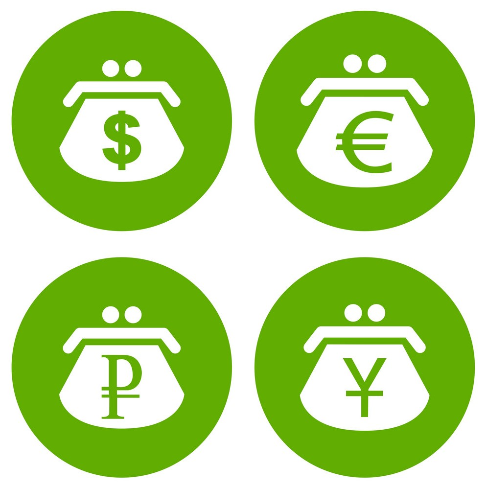 символы мировых валют