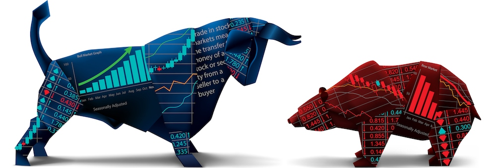 символ биржи бык и медведь